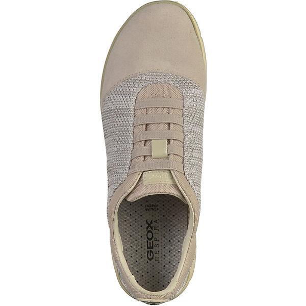 GEOX, GEOX, GEOX, Sneakers Low, weiß  Gute Qualität beliebte Schuhe a85be7