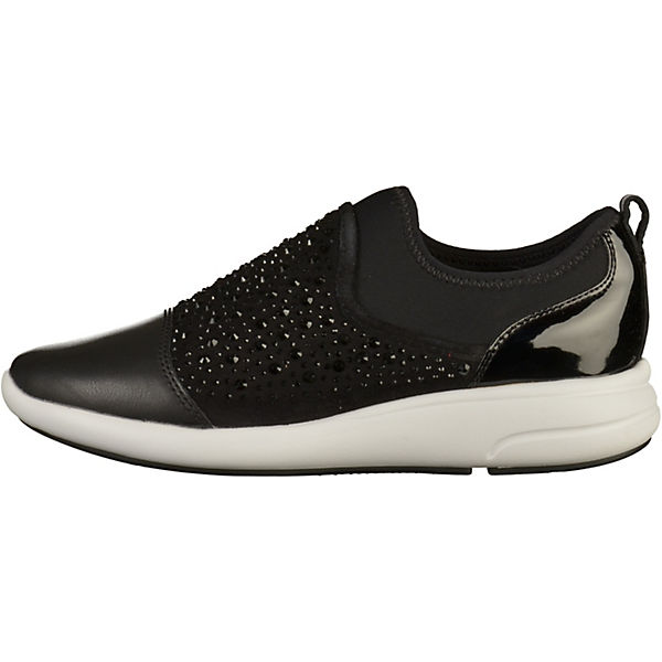 schwarz GEOX On GEOX Slip Sneaker Slip 5vwFpnqXF