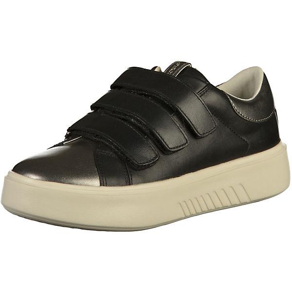 GEOX Sneakers Low schwarz