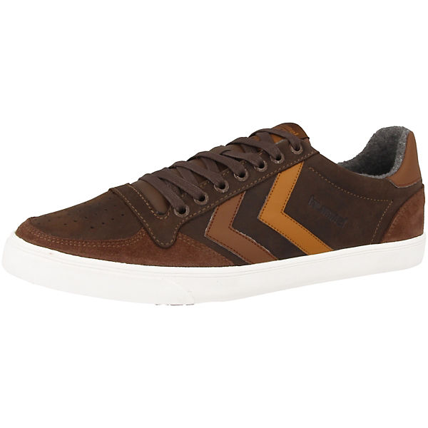 hummel Sneakers Low Slimmer Stadil Duo Oiled braun