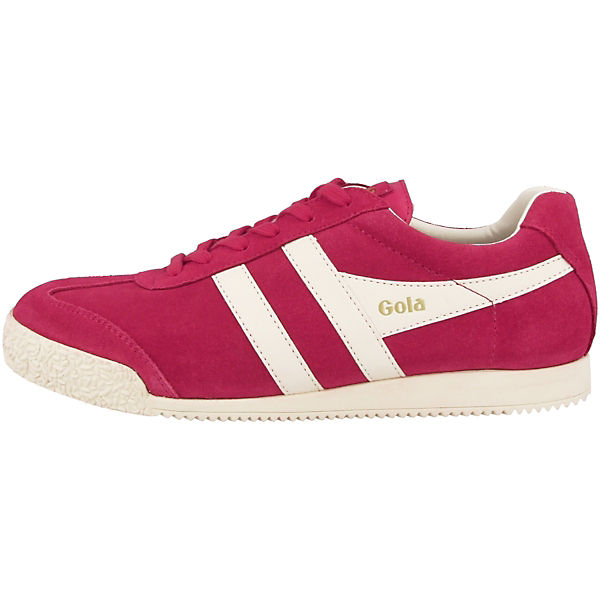 Gola Sneakers Low Harrier Suede Ladies rot