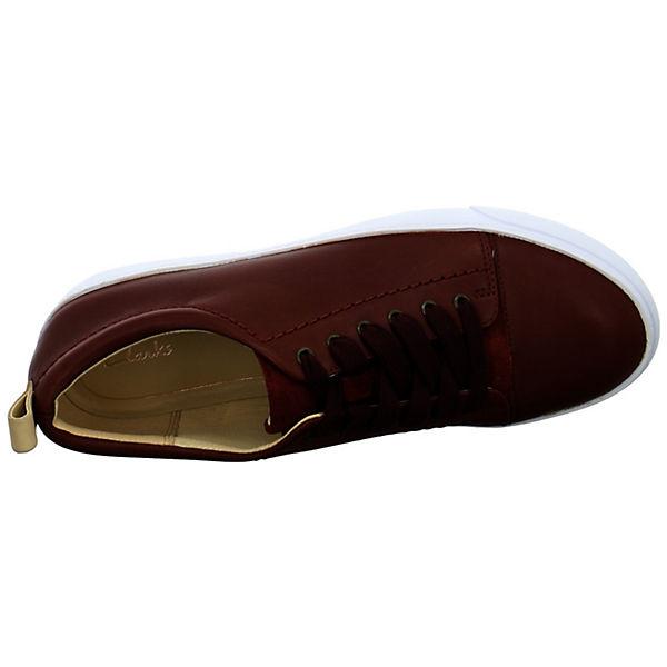 Clarks Schnürschuhe Glove Echo rot