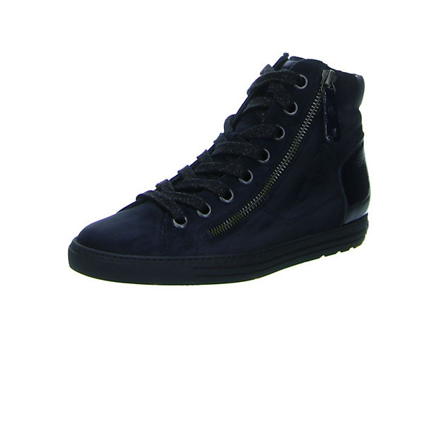 High Sneakers Paul Green blau blau Sneakers High Paul Green Green Paul Sneakers blau High wCYfq6Y