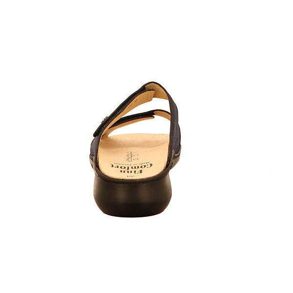 Finn Comfort, Komfort-Pantoletten, blau Schuhe  Gute Qualität beliebte Schuhe blau 703ae7