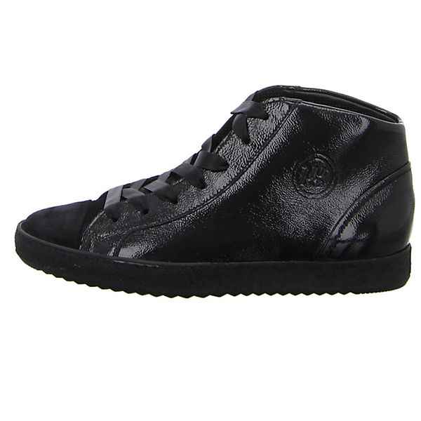 Paul Green Sneakers High schwarz