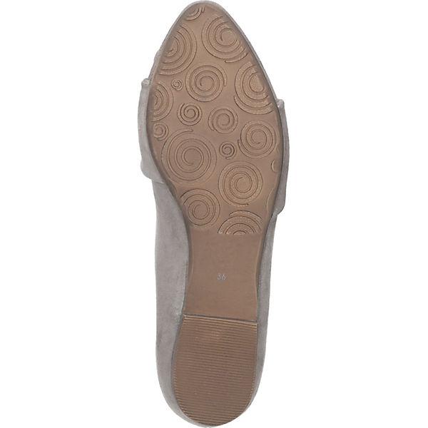 Piazza, Gute Klassische Ballerinas, beige  Gute Piazza, Qualität beliebte Schuhe cc2b24