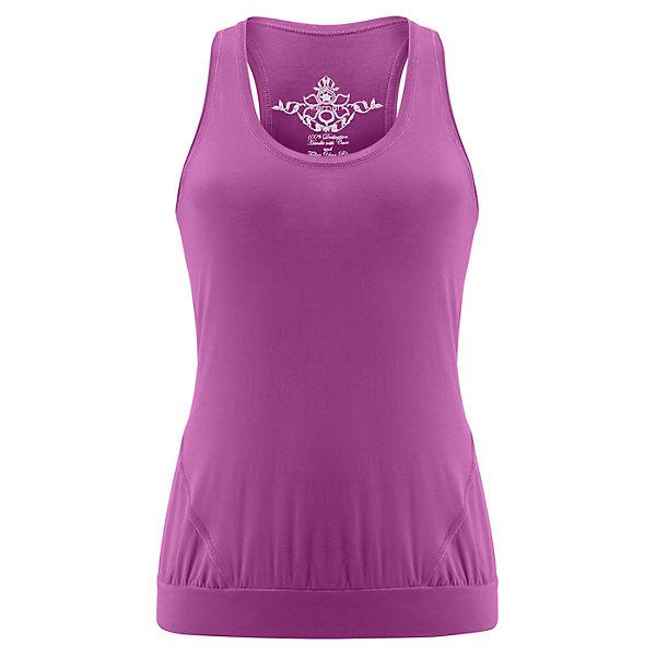Kamah Yoga Tops Iris lila