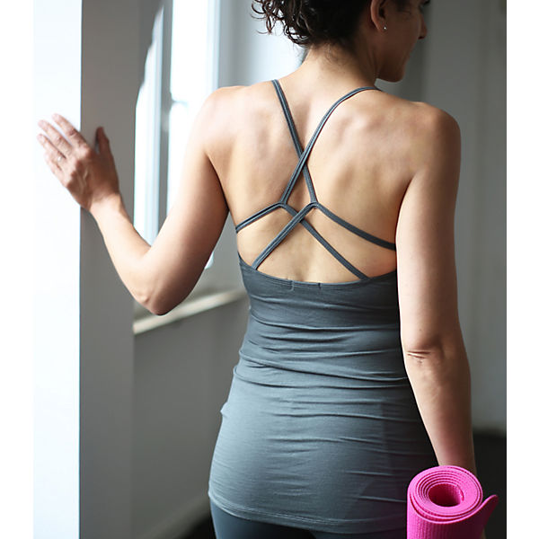 Kismet Yogastyle Yoga Tops Kali grün