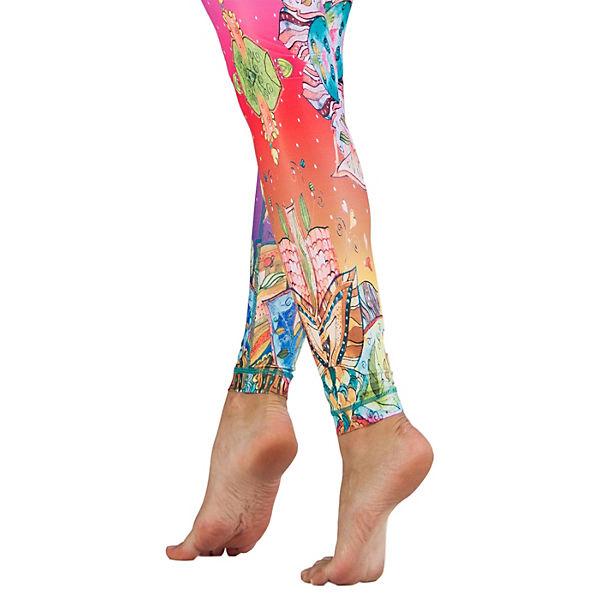 Niyama Yoga Hosen Barcelona mehrfarbig
