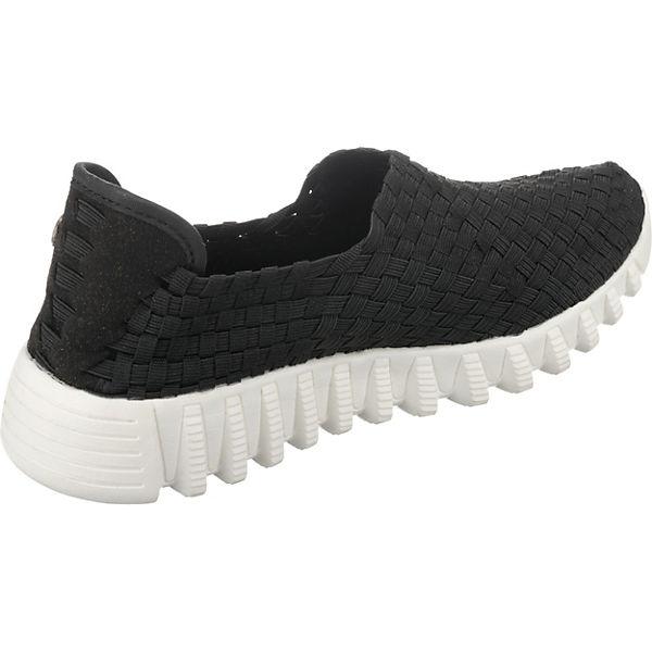 bernie mev., Gute Zip Fly  Sportliche Slipper, schwarz  Gute mev., Qualität beliebte Schuhe f903bd