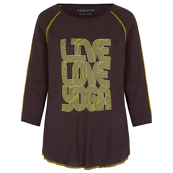 Yogistar Braun Yoga Boogie T Langarmshirts 92IEHWDY