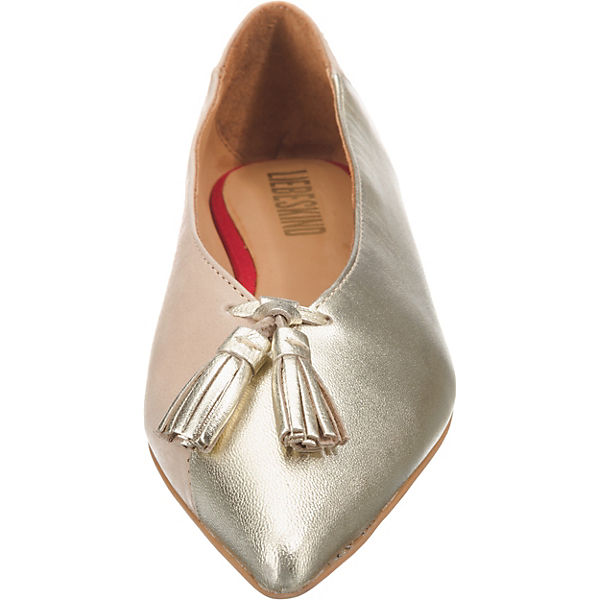Liebeskind Berlin, Gute Klassische Ballerinas, gold  Gute Berlin, Qualität beliebte Schuhe 204fe0