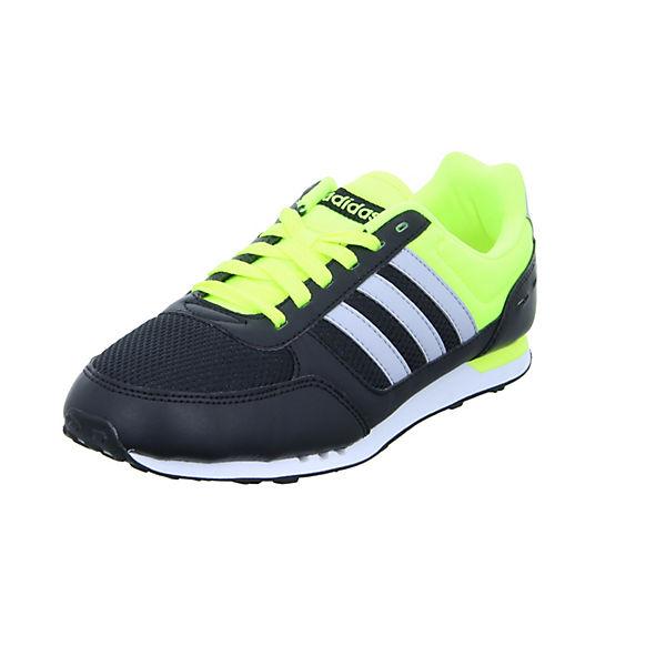 adidas NEO City Racer Sneakers Low schwarz