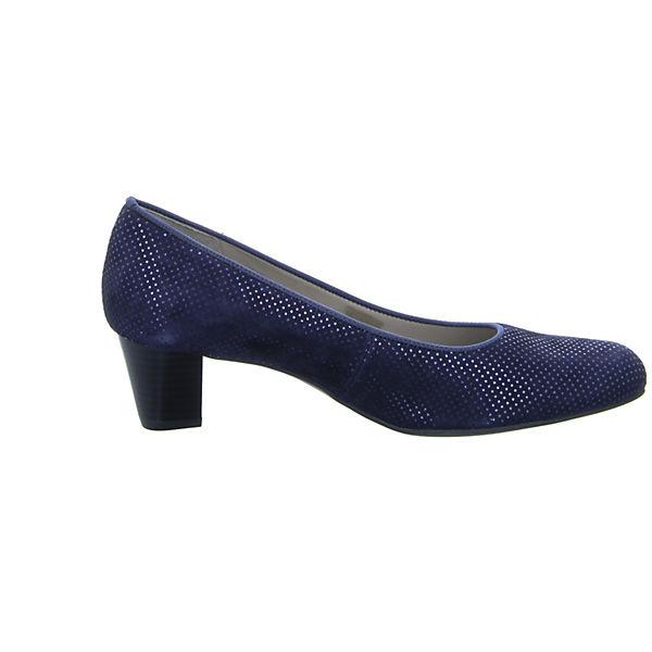 ara, KNOKKE KNOK Klassische Qualität Pumps, blau  Gute Qualität Klassische beliebte Schuhe 36222a