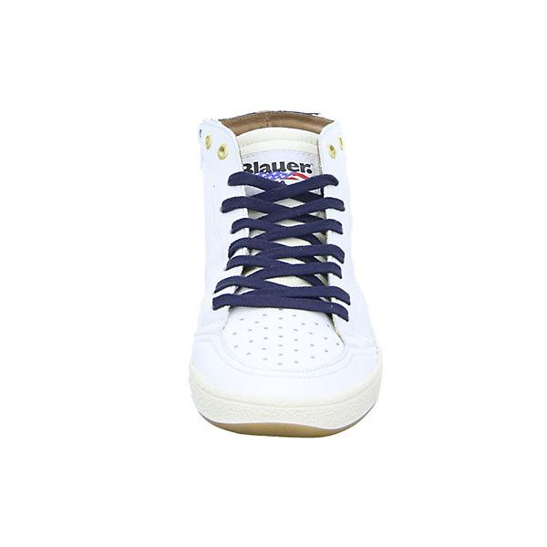 weiß LEA High Sneakers MURRAY02 Blauer qIvawzv1x