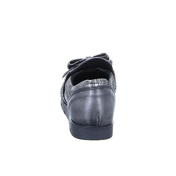 Kristofer BG5012 Sportliche Slipper schwarz