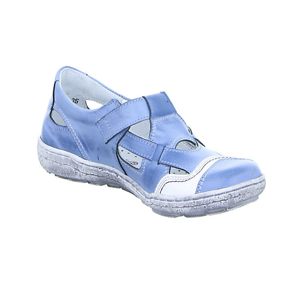 Kristofer 2034 Offene Halbschuhe blau