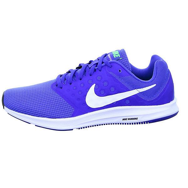 Low Sneakers 7 blau Downshifter Performance Nike w8qCUn6H