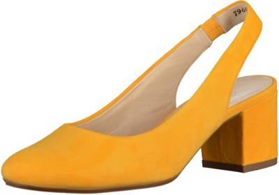 Peter Kaiser »Leder« Pantolette, gelb, EURO-Größen, gelb
