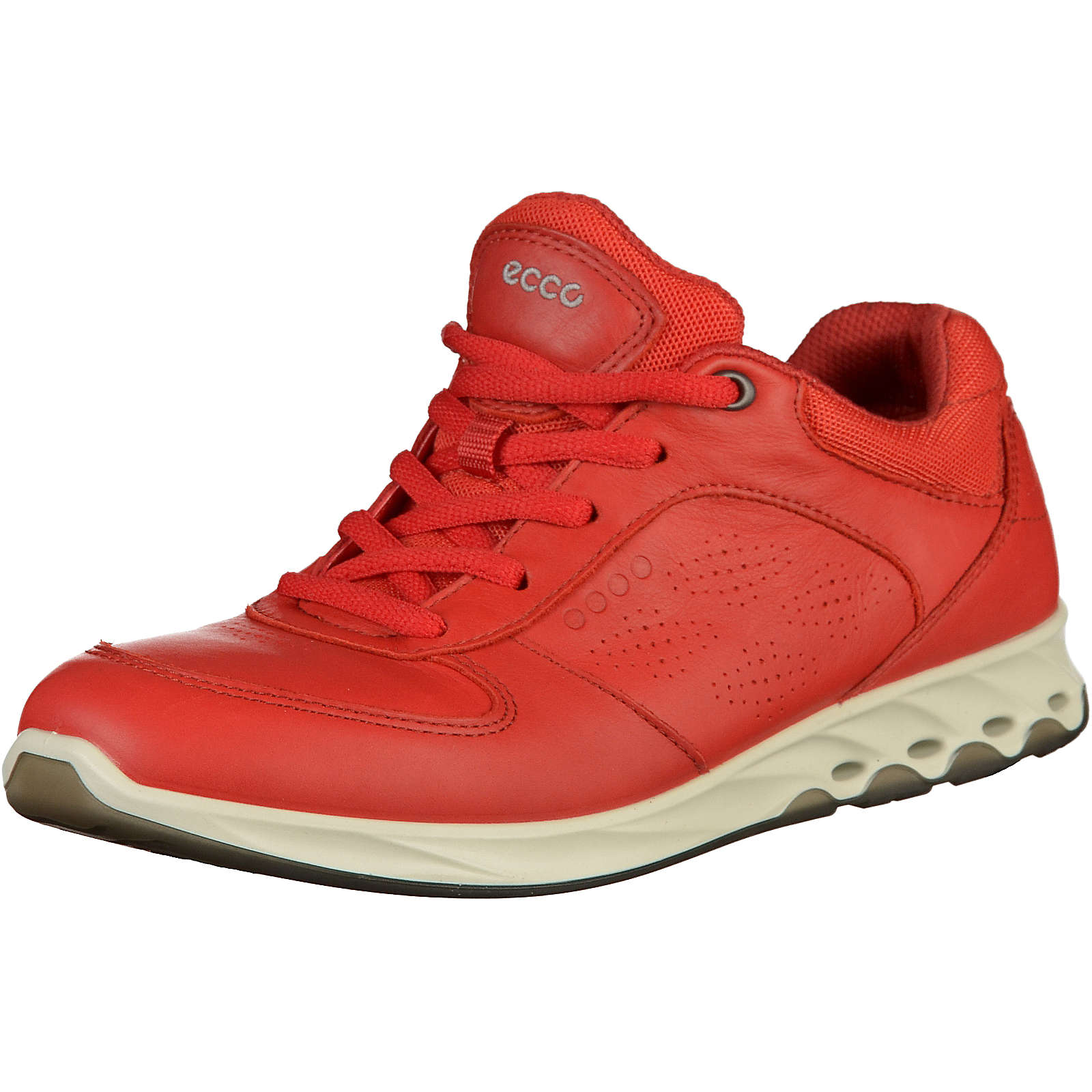 ecco Sneakers Low rot Mädchen Gr. 42