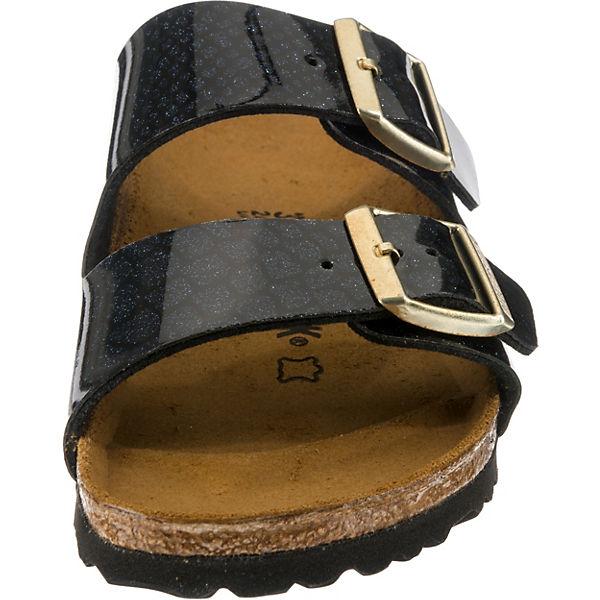 BIRKENSTOCK, Arizona schmal Komfort-Pantoletten, schwarz Schuhe  Gute Qualität beliebte Schuhe schwarz e3ab49