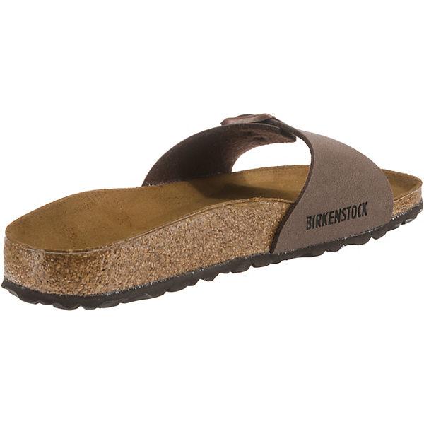 BIRKENSTOCK, Madrid Gute schmal Pantoletten, braun  Gute Madrid Qualität beliebte Schuhe 38b2d3