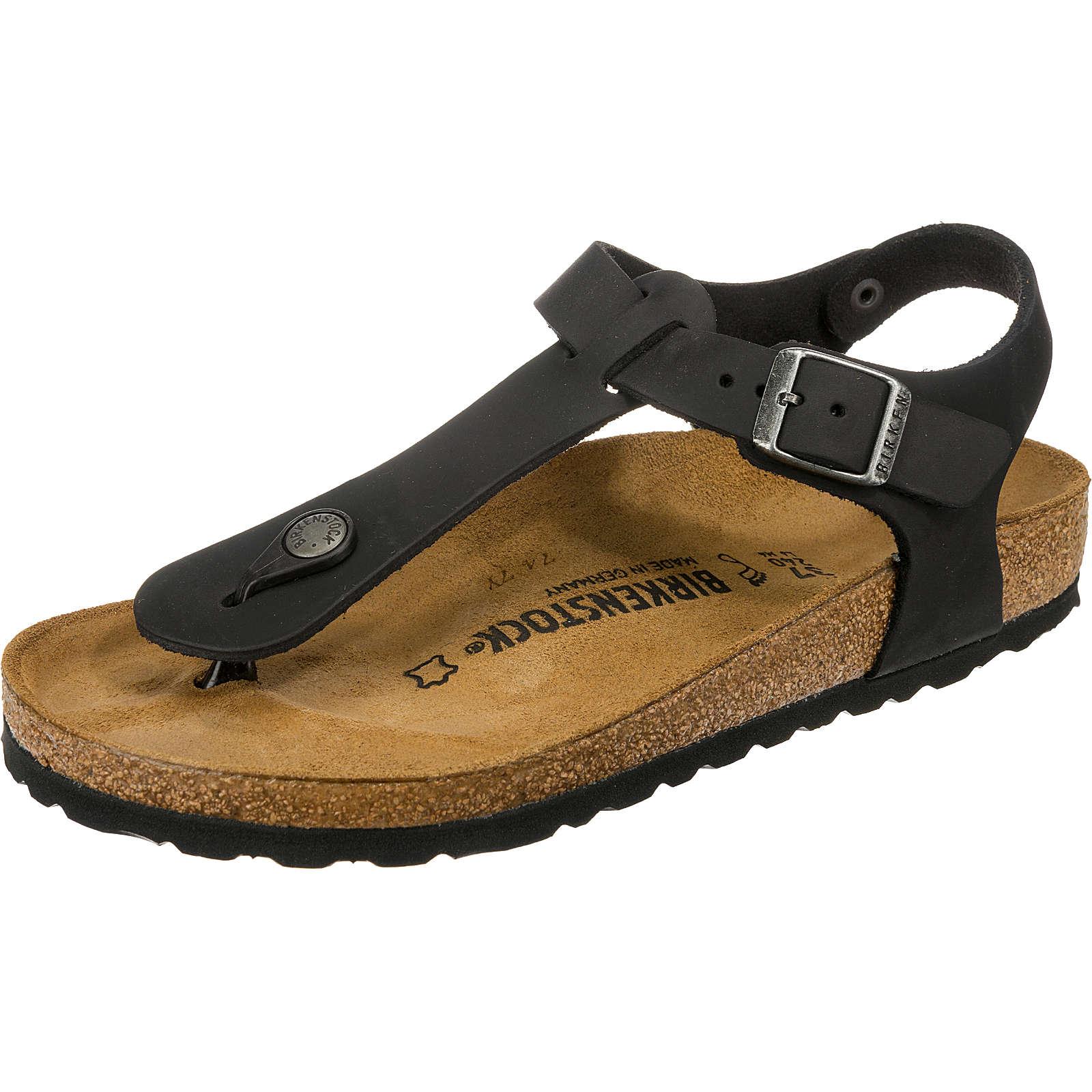 BIRKENSTOCK Kairo weit Klassische Sandalen schwarz Damen Gr. 42