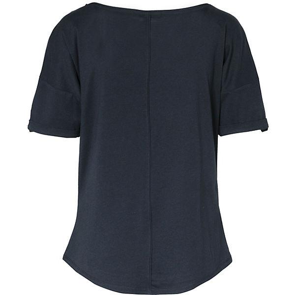 Casual Identity T dunkelblau Comma Shirt TY7wxXqv