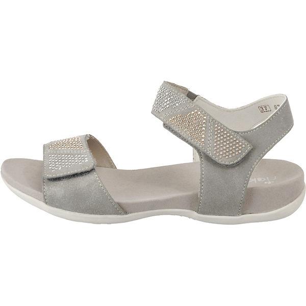 rieker grau Komfort rieker Komfort Sandalen Sandalen Sandalen Komfort grau rieker wBvF1Yq