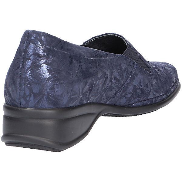 Semler, Komfort-Slipper, Komfort-Slipper, Komfort-Slipper, blau   686f2c
