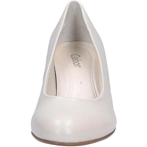 Gabor, Klassische Qualität Pumps, weiß  Gute Qualität Klassische beliebte Schuhe 040862