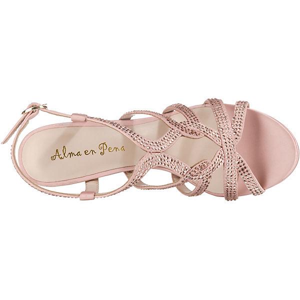 Alma en en en Pena Klassische Sandaletten pink  Gute Qualität beliebte Schuhe 7344c8