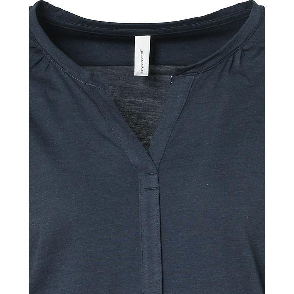 dunkelblau 4 Soyaconcept Arm Shirt 3 qUSI6wv