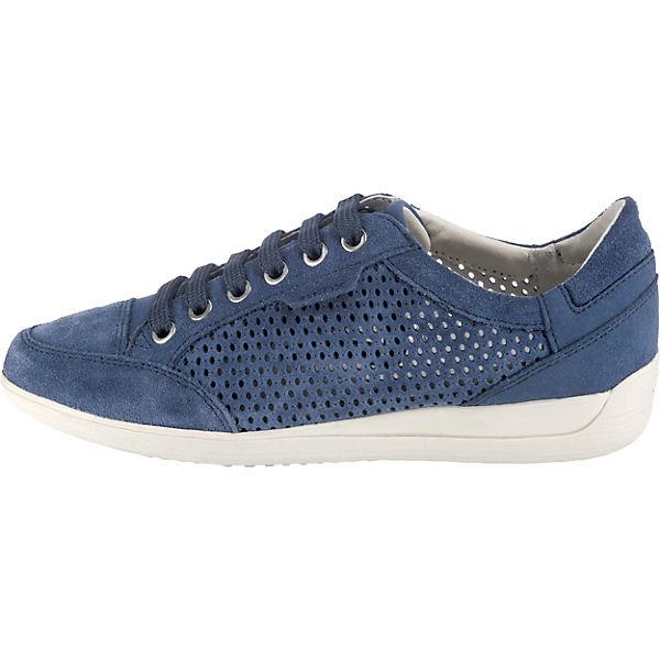 GEOX, D MYRIA Turnschuhes Niedrig, denim Gute Gute Gute Qualität beliebte Schuhe 698e6e