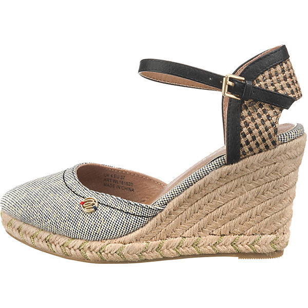 Wrangler Wrangler Wrangler Stardust Brava Keilsandaletten denim  Gute Qualität beliebte Schuhe 90c3b7