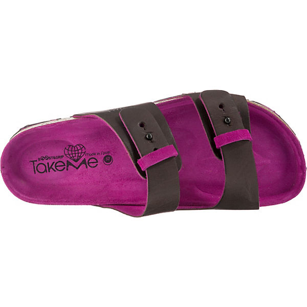 TakeMe CHOPO TakeMe Komfort Pantoletten pink CHOPO CO1wS