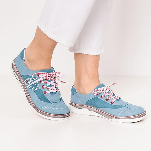 Kacper Komfort-Halbschuhe türkis  Gute Qualität beliebte Schuhe