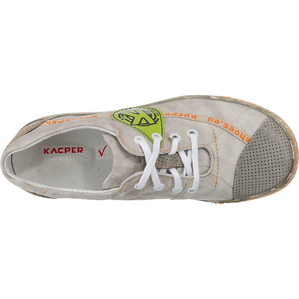 Kacper, Kacper, Kacper, Komfort-Halbschuhe, grau-kombi   beef7d