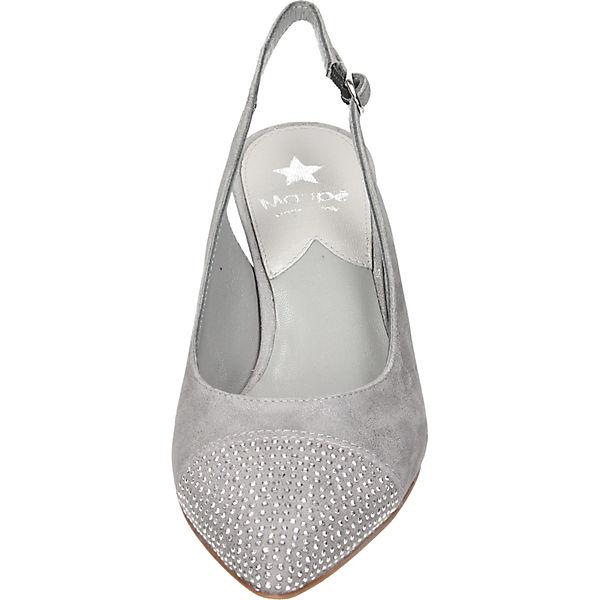 Maripé, Sling-Pumps, beige Qualität  Gute Qualität beige beliebte Schuhe 25e140