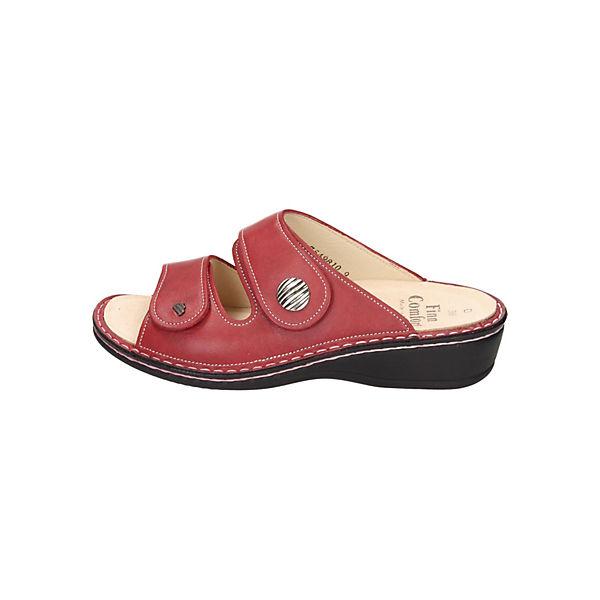 Finn Comfort, Pantoletten, rot  Schuhe Gute Qualität beliebte Schuhe  b9ea79