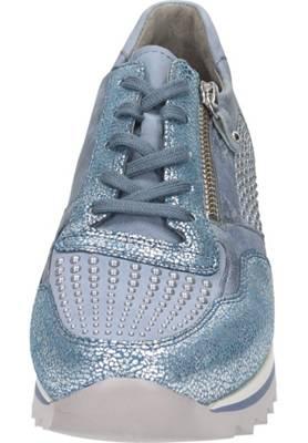 Gabor Damen Sneaker in blau   Schuhfachmann