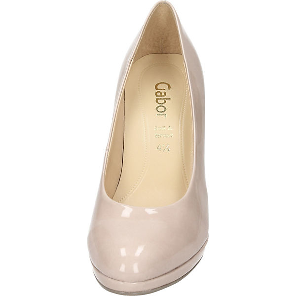 Gabor, Klassische Pumps, beige  Schuhe Gute Qualität beliebte Schuhe  1149ef