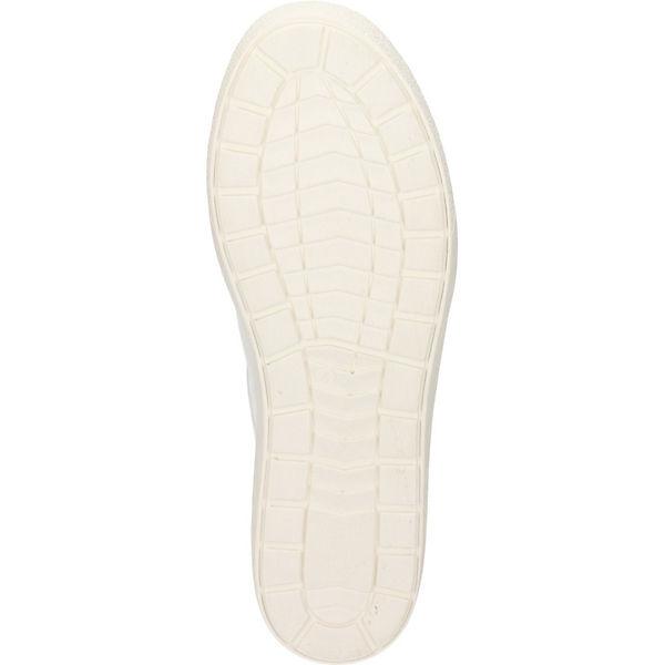 CAPRICE Schnürschuhe weiß