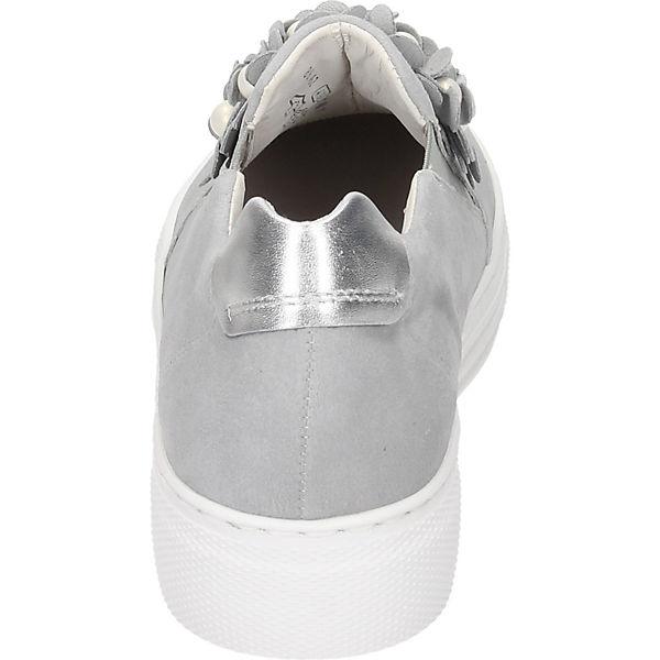 Gabor, Sportliche Slipper, grau grau Slipper,   4d7a68