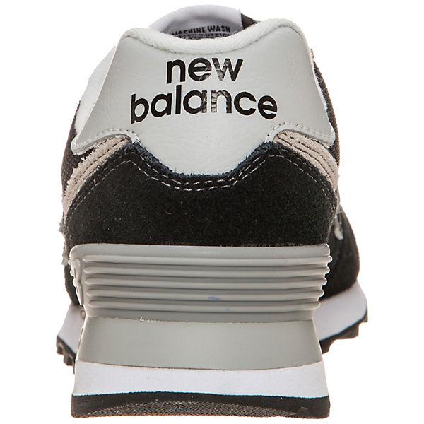 new balance, WL574-EB-B Sneakers Low, schwarz