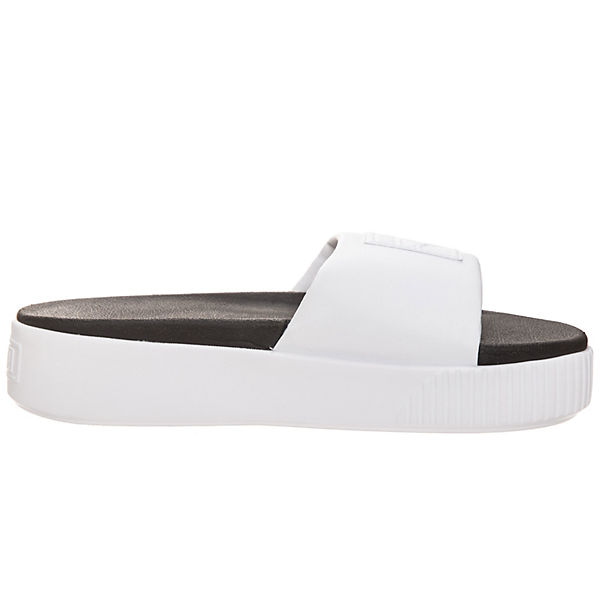 PUMA Platform Gute Slide Pantoletten weiß  Gute Platform Qualität beliebte Schuhe 8203ae