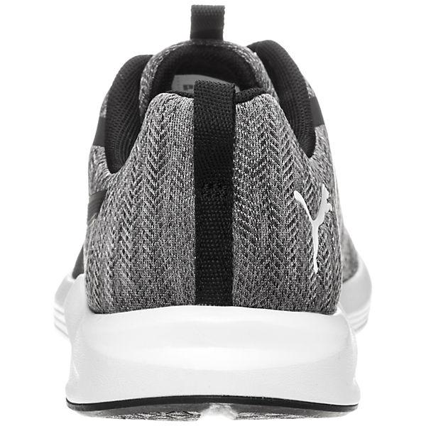 PUMA, Prowl Shimmer Fitnessschuhe, schwarz/weiß
