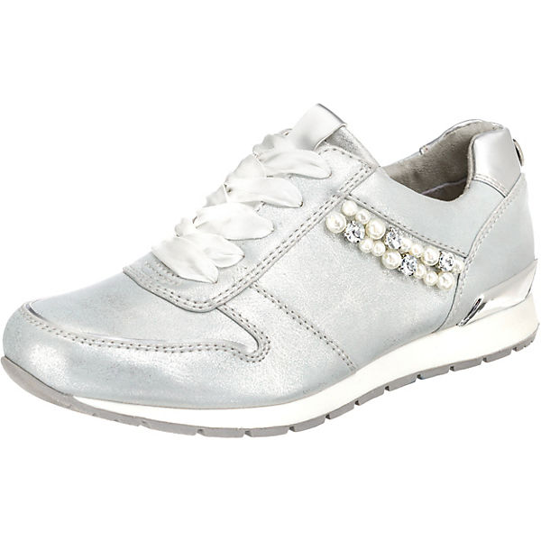 more photos d1e97 049bb TOM TAILOR, Sneakers Low, silber | mirapodo