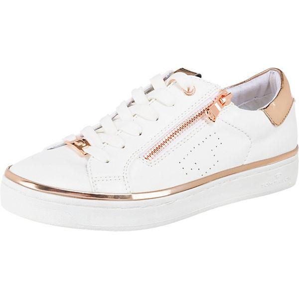 Low weiß kombi TOM Sneakers TAILOR qUEwq0f