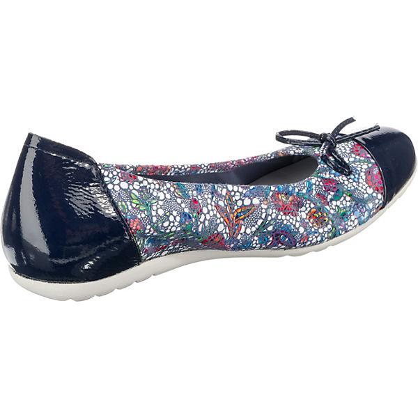 SABRINAS, LONDON Klassische Ballerinas, Ballerinas, Ballerinas, blau-kombi  Gute Qualität beliebte Schuhe a48d77